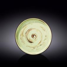 Тарелка обеденная Wilmax SPIRAL PISTACHIO 28 см WL-669120 / A