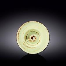Тарелка глубокая Wilmax SPIRAL PISTACHIO 22.5 см WL-669123 / A