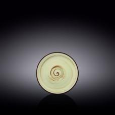 Блюдце Wilmax SPIRAL PISTACHIO 15 см WL-669136 / B