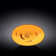 Блюдо глубокое овальное Wilmax SPIRAL YELLOW  25х16,5х6 см WL-669440 / A