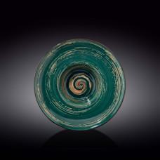 Тарелка глубокая Wilmax SPIRAL GREEN  27 см WL-669526 / A