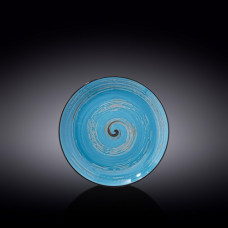 Тарелка десертная Wilmax SPIRAL BLUE  20.5 см WL-669612 / A