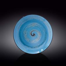 Тарелка глубокая Wilmax SPIRAL BLUE  25.5 см WL-669627 / A