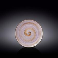 Тарелка десертная Wilmax SPIRAL LAVENDER 20.5 см WL-669712 / A