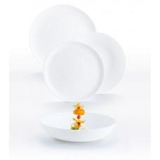 Сервиз столовый Luminarc AMMONITE WHITE 18пр P9101