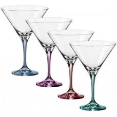 Набор бокалов для мартини Bohemia Spectrum 290мл-4шт b4GA18-382222
