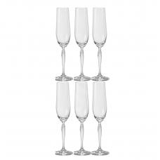 Набор бокалов для шампанского Bohemia Keira 195мл-6шт 40837 195