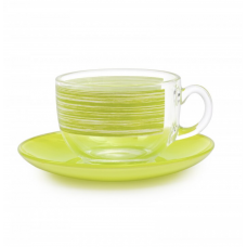 Чайный сервиз Luminarc Brush Mania Green 220мл-12пр P8982