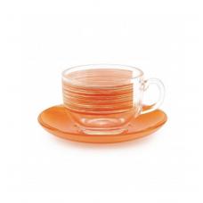 Чайный сервиз Luminarc Brush Mania Orange 220мл-12пр P8984