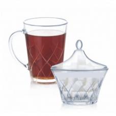 Набор чайный Luminarc Swivel 8пр P2695