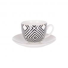 Чашка с блюдцем Limited Edition LUXURY 220мл ZT18-109-1