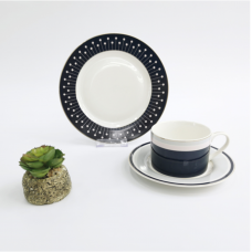 Чайный набор (чашка с блюдцем+десертная тарелка) Limited Edition LUXURY GIFT 3пр ZHR18-075-1