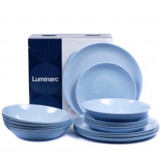 Сервиз столовый Luminarc DIWALI LIGHT BLUE 18 пр. P2962