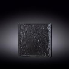 Тарелка квадратная WILMAX SLATESTONE BLACK 17х17см WL-661105 / A