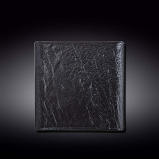 Тарелка квадратная WILMAX SLATESTONE BLACK 21,5х21,5см WL-661106 / A
