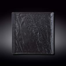 Тарелка квадратная WILMAX SLATESTONE BLACK 27х27см WL-661107 / A