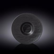 Тарелка глубокая WILMAX SLATESTONE BLACK 24см/200мл WL-661115 / A