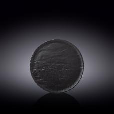 Тарелка круглая WILMAX SLATESTONE BLACK 18см WL-661123 / A