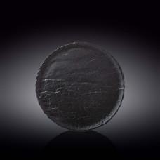 Тарелка круглая WILMAX SLATESTONE BLACK 23см WL-661125 / A