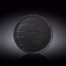 Тарелка круглая WILMAX SLATESTONE BLACK 28 см WL-661127 / A