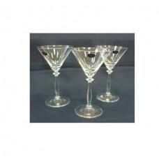 Набор бокалов для мартини Bohemia Angela 285мл 6 шт