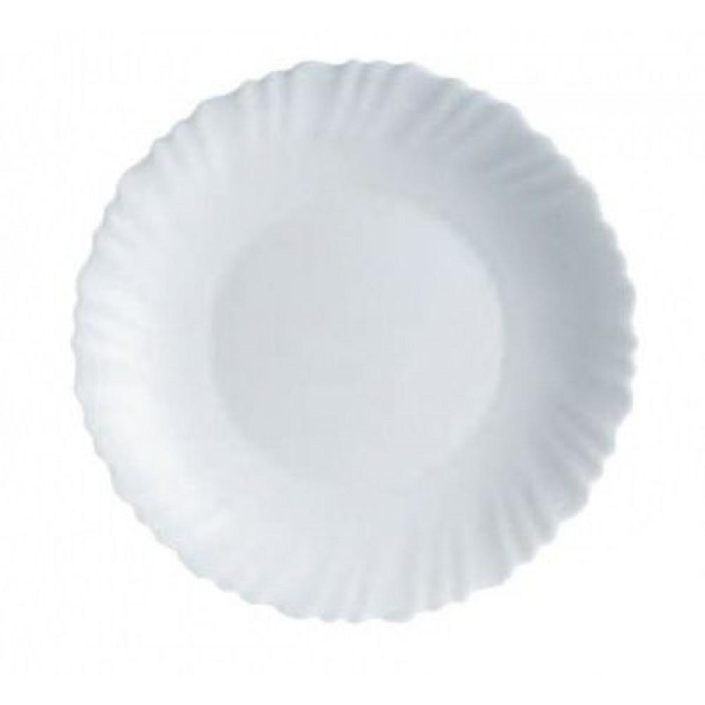 Тарелка обеденная круглая Luminarc Feston 25см H3662