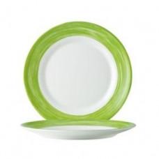 Тарелка пирожковая круглая Arcoroc Brush Green 155мм