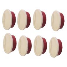 Набор форм для выпечки 8 шт круглых 14,5х6,5 с пластиковыми крышками Berghoff