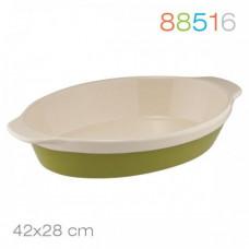 Форма для выпечки Natura Oliva Green Ceramica Granchio