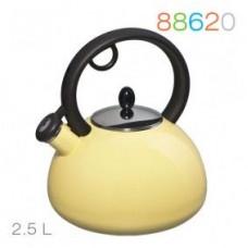 Чайник эмалированный со свистком Granchio 2.5л