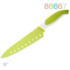 Нож Granchio поварской зеленый 88667