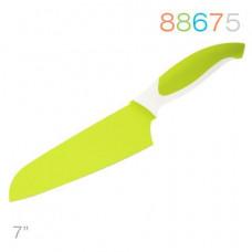 Нож Granchio сантоку зеленый 88675