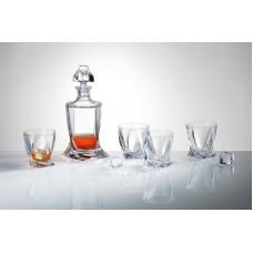Набор для виски Bohemia Quadro 5 пр. 99999 99А44 498