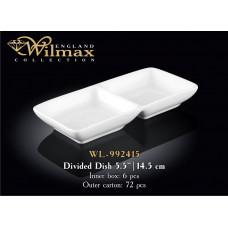 Менажница двойная Wilmax 14,5 см WL-992415