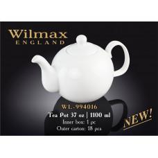 Чайник заварочный Wilmax Color 1100мл WL-994016/1C