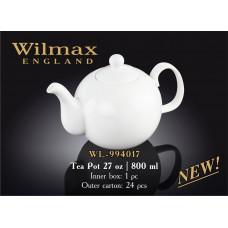 Чайник заварочный Wilmax 800 мл Color WL-994017