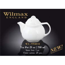 Чайник заварочный Wilmax Color 750 мл WL-994031
