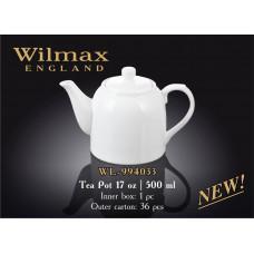 Чайник заварочный Wilmax 500мл Color WL-994033/1C