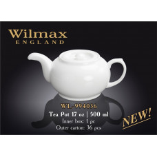 Чайник заварочный Wilmax Color 500 мл WL-994036