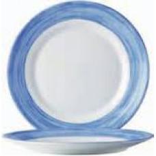 Тарелка пирожковая круглая Arcoroc Brush Blue 155мм