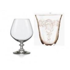 Набор бокалов для коньяка Bohemia Angela 400мл(285194)-6шт