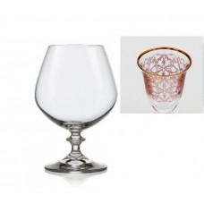 Набор бокалов для коньяка Bohemia Angela (437579) 400мл-6шт