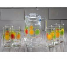 Набор для напитков LUMINARC Propriano Corail 7пр. Q5626