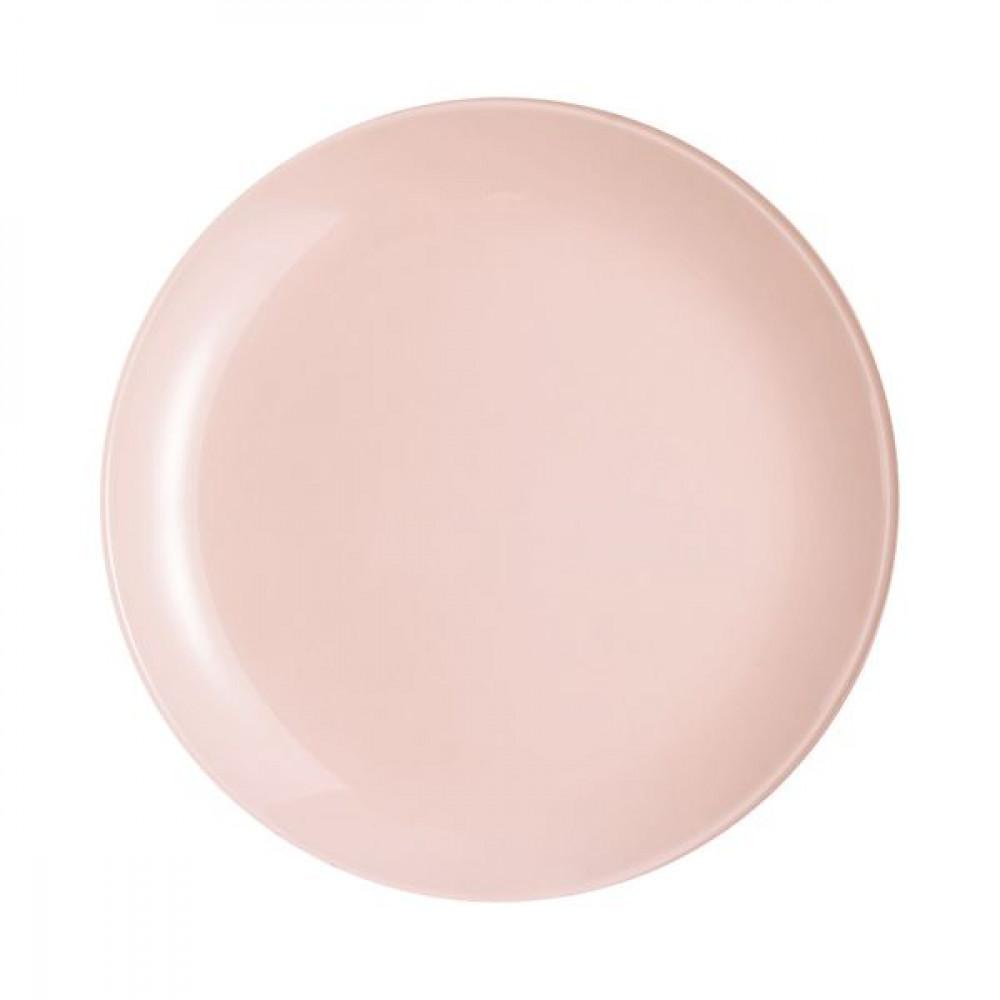 Тарелка обеденная Luminarc Arty Pink Quartz 26 см Q2944