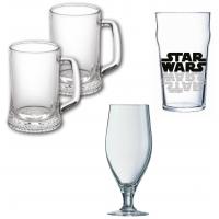 Пивные бокалы, стаканы, кружки
