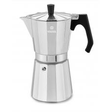 Кофеварка гейзерная Vinzer на 9 чашек 450мл 89384