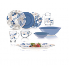 Сервиз столовый Luminarc AMB Floral Mix 46 пр. Q3547