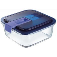 Емкость для еды/запекания квадратная Luminarc Easy Box 760мл P7422